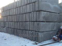 Block of wall ShBS 12-6-6, 1180kh600kh580mm