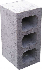 Stone concrete wall KPR-PR-PS-39, 390kh120kh188mm