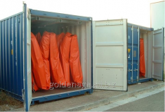Containers for fast expansion of bonovy obstacles