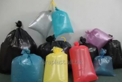 Packages from polyethylene of a high pressure