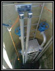 Sewer pump stations