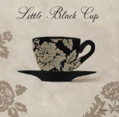 Постер Lttle Black Cup, 30x30 cm, A 6327