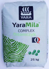 The YaraMila Complex 12-11-18 N12 fertilizer of %,