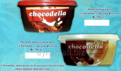 The Chocodella dairy chocolate cream with filbert