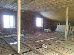 Wood concrete – unique construction material