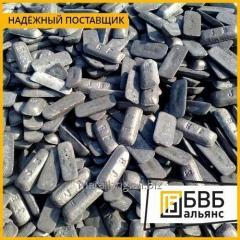 El lingote de metal de hierro fundido Л3