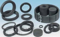 Carbon kompressny rings and bearings of sliding