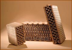 Керамические поризованные блоки Porotherm