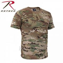 Rothco t-shirt man's Multicam (6286, L, to