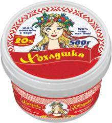 Smetanny is blown the UKRAINIAN, 20%, 500 g
