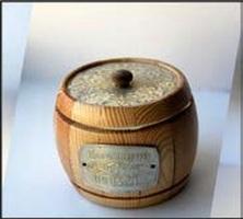 Altai honey Keg type-setting dark 0,35kg*10 piece