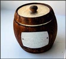 Altai honey Keg type-setting dark 0,7kg*14 piece