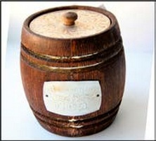 Altai honey Keg of type-setting 1,5 kg dark 1 l
