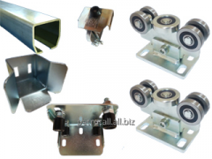 Set of the console mechanism (accessories) for