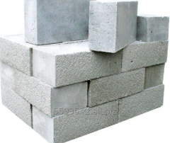 Blocks wall of polysterene concrete