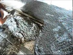 Polysterene concrete - liquid