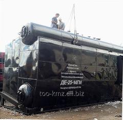 Котел паровой ДЕ-25-24ГМ-О