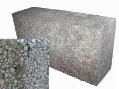 Polysterene concrete block, Heatblock, Foam
