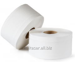Jumbo toilet paper roll of 150 meters cellulose