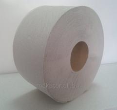 Jumbo toilet paper roll of 150 meters waste paper
