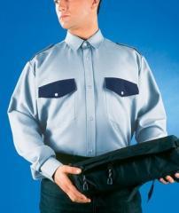 Security guard's shir