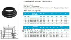 Step transition of PE100 SDR11