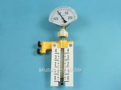 The device for studying of gas laws