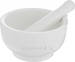 Mortar with a pestle of 100 ml