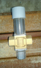 The limiter of temperature of the return FGV water