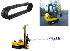 Rubber caterpillar for mini-equipmen