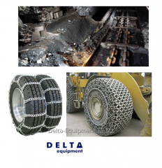 Chains for tires and the mining industry