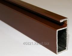 Profile brown aluminum T narrow