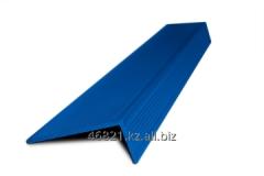 Blue aluminum shape the L wide