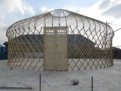Юрта  8 канатная  диаметром 7 метров