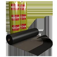 Рулонный гидро-шумоизоляционный битумно-полимерный