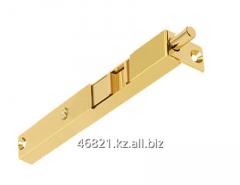 Latch door gold