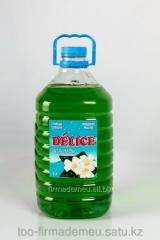Жидкое мыло DELICE с ароматом Жасмина 5,0л. от ТОО