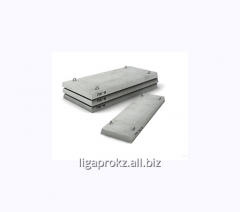 Плита для теплотрасс железобетонная М200-М350