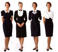 Uniform for hotels in Almaty