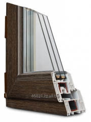 Shtapik on a double-glazed window (20 mm) with