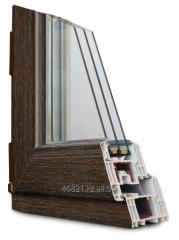 Shtapik on a double-glazed window (24 mm) with