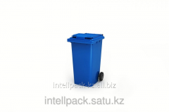 Бак мусорный 360 литров Синий