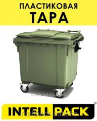 Евроконтейнер для мусора ТБО 1100 л