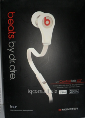 Monster beats beats by Dr. Dre earphones
