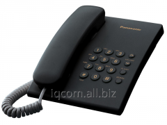 Panasonik KX-TS2350CA phone is red