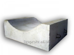 The block lekalny under the cylindrical reinforced