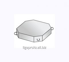 Плита и блок укрепления откосов и насыпей железобетонные М250
