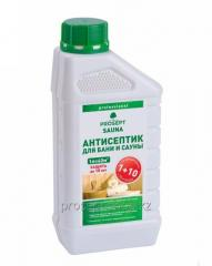 Antiseptics for baths and saunas of 004-1 Sauna, a concentrate 1:10, 1 l.