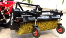 Brush equipment SX150, Equipment pluzhno-brush