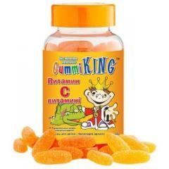 Gummi King Витамин С №60 Драже жев.